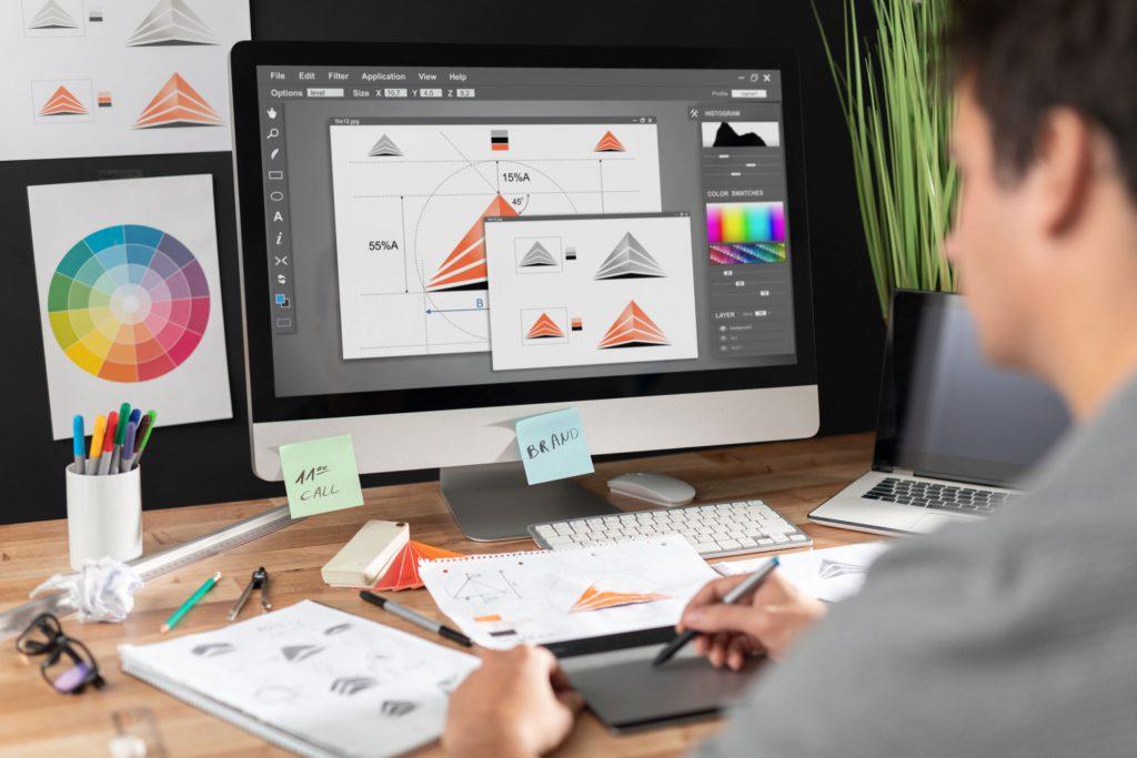 design graphique bureau